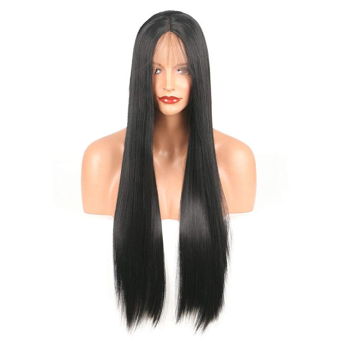 破壊シャーロットブロンテ嫌いBOBIDYEE ヨーロッパの美容スタイル化学繊維フロントレースかつら合成髪レースかつらロールプレイングかつら (色 : Photo Color, サイズ : 18 inches)