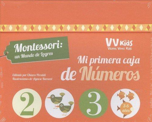 MI PRIMERA CAJA DE NUMEROS (VVKIDS) (Vvkids Montessori)