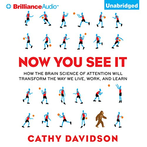 Now You See It audiobook cover art