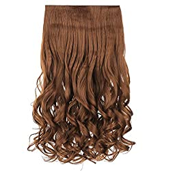 7 best hair extensions in 2017 get that celebrity look with ease the reecho 20 1 pack 34 full head synthetic hair extensions features as our best clip in hair extension the reecho 20 hair extension is heat resistant pmusecretfo Choice Image