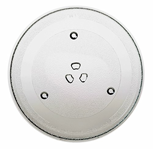 Bagean Replacement for GE WB48X21336 Microwave Glass Tray 10.6 Inches