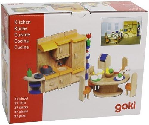 Goki Furniture for Flexible Puppets Kitchen (37 pieces) by ToyMarket