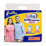 Lifree Large Size Diaper Pants - 10 Count