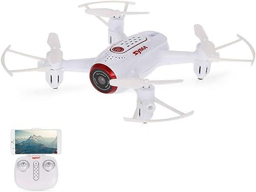 QUARKJK RC Drone Hubschrauber Quadcopter FPV WiFi Kamera Aktivierungsfunktion Headless-Modus Echtzeitübertragung für Kinder Geschenk,Weiß2battery