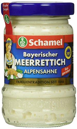 Schamel Sahne- Meerrettich, 12er Pack (12 x 135 g)