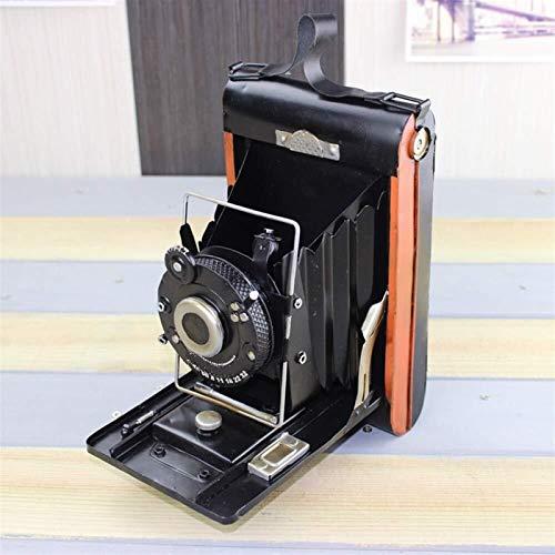 LIPENLI Eisen-Antike-Kamera Modell Antiquitäten Sammlungen kreative Hauptdekorationen Kamera Modell Simulationsmodell 13 * 19 * 22cm Stilvoll und schön