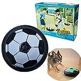Indoor Soccer Ball Floating Soccer Feliz Regalo Interesante Fútbol Flotante con Luz LED, Juguetes Infantiles para Niños