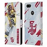 Head Case Designs sous Licence Officielle Transformers Bumblebee Autobots Art Clé Coque en Cuir à...