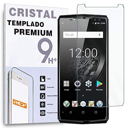 REY Protector de Pantalla para OUKITEL K10, Cristal Vidrio Templado Premium