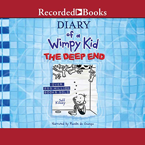 Diary of a Wimpy Kid: The Deep End cover art