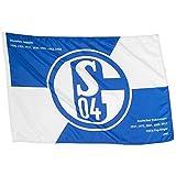FC Schalke 04 Schwenkfahne Die Erfolge 100 x 150 cm