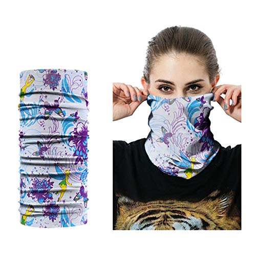 Bandana Masque Coiffure Head Neck Gaiter Snood Outdoor Motard Tube écharpe Wraps