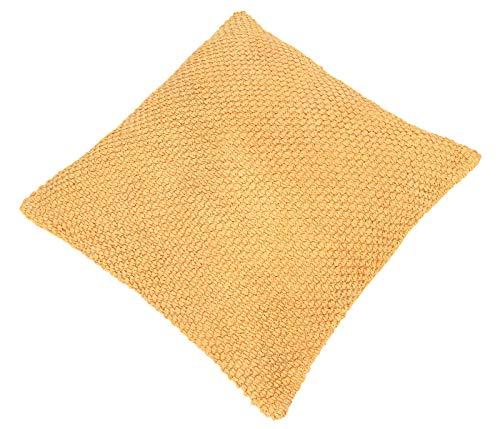 Dehner Dekokissen Clarissa, ca. 45 x 45 x 10 cm, Baumwolle, gelb