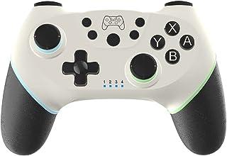 Miaoqian Gamepad sem fio BT Game Joystick Controller com manopla de 6 eixos Ergonômico compatível com Switch/Switch Lite H...