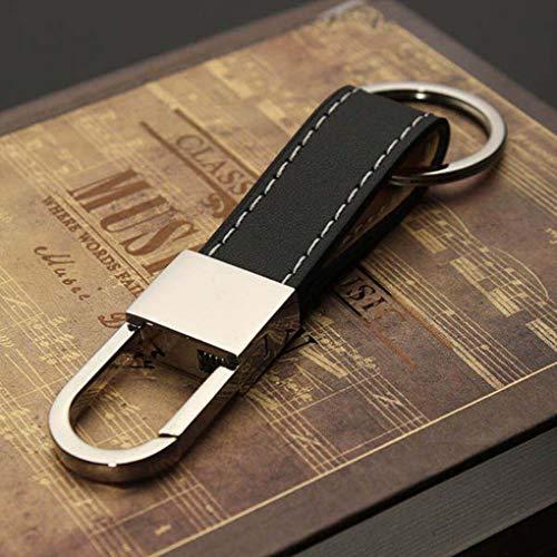 Heren lederen riem sleutelhanger