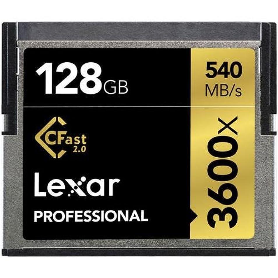 抵抗するテクトニック肩をすくめるLexar 128GB Professional 3600x CFast 2.0 Memory Card [並行輸入品]