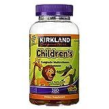 Kirkland Signature Childrens' Complete Multivitamin Gummies 160 Count (Orange,...