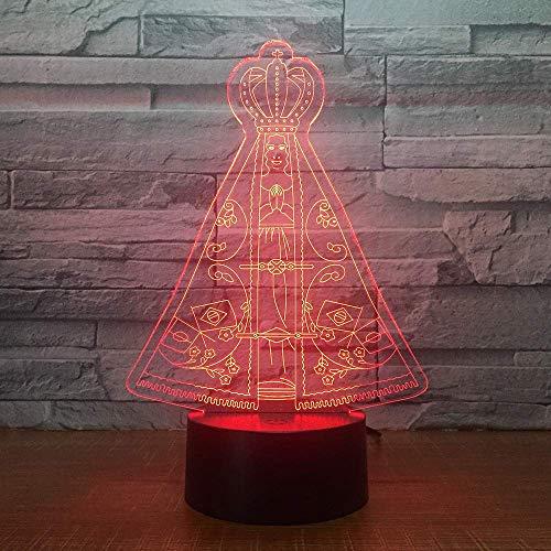 Magic Tent 3D LED illusie tafel bureau decoratie lamp 7 kleuren veranderende nachtlampje voor slaapkamer Home Decoration, verjaardag kerstcadeau voor jongens en meisjes
