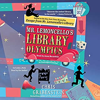 Page de couverture de Mr. Lemoncello's Library Olympics