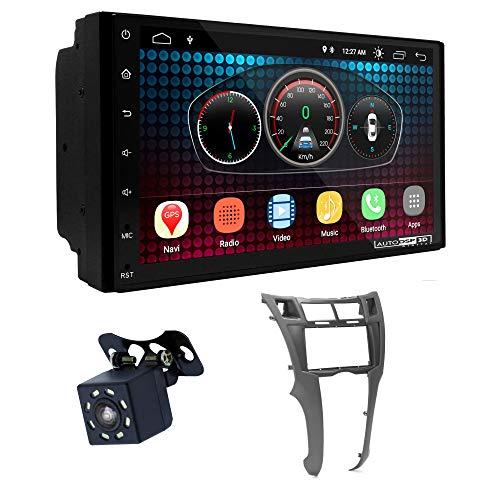 UGAR EX6 7 pollici Android 6.0 DSP Navigazione GPS per Autoradio + 11-401 Kit di Montaggio compatibile per Toyota Yaris,Vitz, Platz 2005-2010