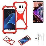 K-S-Trade® Mobile Phone Bumper + Earphones For JVC J20