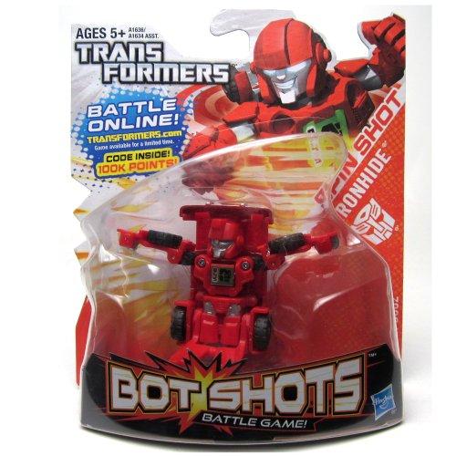 Ironhide Transformers Bot Shots Stunts N Speed Series 2 - Vehículo de juego de batalla