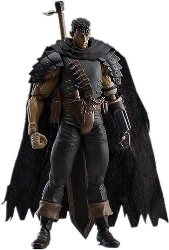 envío gratuito a nivel mundial Qdegui 17 cm Figura de acción negro negro negro Swordsman  Guts Héroe de Verdad Estatua Colección  moda