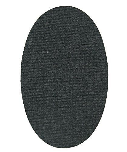 6 rodilleras tejano colegial termoadhesivas de plancha. Coderas para proteger tu ropa y reparación de pantalones, chaquetas, jerseys, camisas. 16 x 10 cm. Ref. 33 Tejano colegial