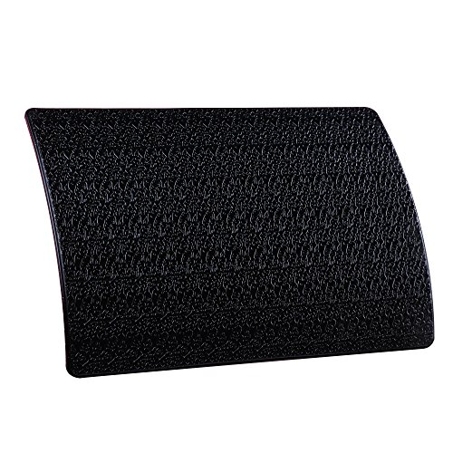 """Extra Thick Sticky Anti-Slip Gel Pad, Mini-Factory Premium Universal Non-Slip Dashboard Mat for Cell Phones, Sunglasses, Keys, Coins and More - Black (Large Size: 7.8"""" X 5.5"""")"""