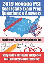 2019 Nevada PSI Real Estate Exam Prep Questions and Answers: Study Guide to Passing the Salesperson Real Estate License Exam Effortlessly