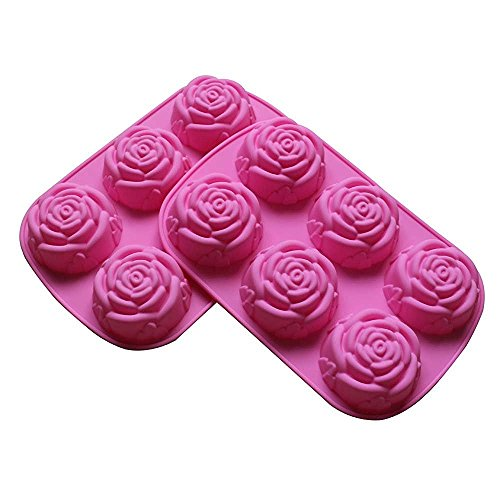Large Rose Flower Soap Silicone Mold