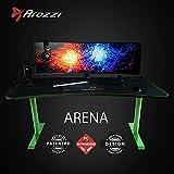 Arozzi Arena Gaming Desk - Green