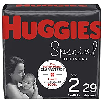 Hypoallergenic Baby Diapers Size 2 180 Ct Huggies Special Delivery Softest Diaper Safe for Sensitive Skin