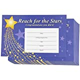 Teacher Reward Certificates for Students 8.5 x 5.5 Inches (60 Pack)