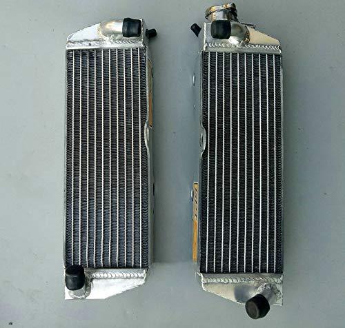 Radiador de aluminio para Husqvar-na TC/TE/SM/SMR/WXC/WXE/WMX 410/570/610; SM 610; SMR 570/630 1990-2008 TC610 TE410 SM610 TE610 8AE