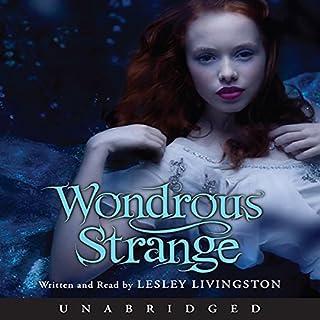 Wondrous Strange audiobook cover art