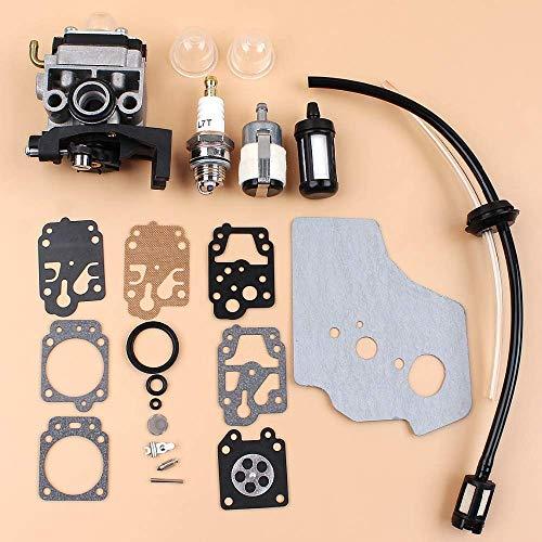 Generador Bomba de Agua del carburador carburador Junta Diaphargm Kit for Honda GX35 HHT35 HHT35S Motor Motor condensadores de Ajuste del Cortador de Cepillo De Confianza