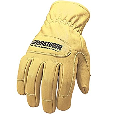 Youngstown Glove Company 12-3265-60-3XL 27 Cal Ground Glove Performance Work Gloves,Brown