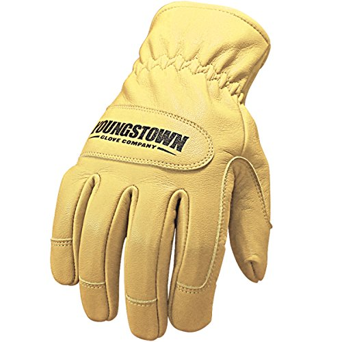 Youngstown Glove 12-3265-60-L Ground Glove Performance Work Gloves, Large, Tan