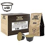 Note D'Espresso Oro di Napoli, Capsule per caffè, in capsule esclusivamente compatibili con macchine Nescafé* e Dolce Gusto* 7 g x 48