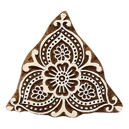 Sharvgun Dekorative Textilien Handgeschnitzte Stoffdruckstempel Holzdruckstöcke