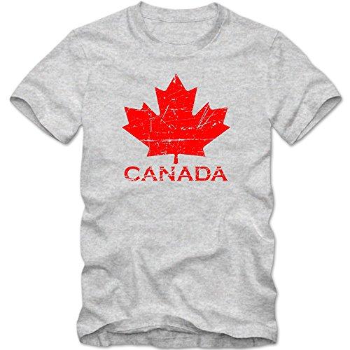 Canadá #1 Camiseta | para Hombre | T-Shirt | Ice Hockey | C