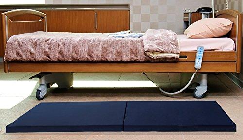 """Geneva Healthcare Bedside Mat Fall Pad - 35"""" x 80"""" x 4"""" - 1/EA"""