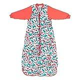 Slumbersac Saco de Dormir niño para Todo el año 3-6 años Mariposa 2.5 TOG | Saco de Dormir Bebe con Mangas largas 130 cm | Saco de Dormir niño 2.5 TOG