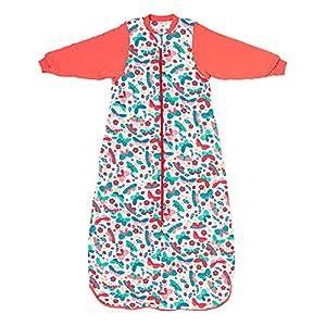 Slumbersac Saco de Dormir niño para Todo el año 3-6 años Mariposa 2.5 TOG   Saco de Dormir Bebe con Mangas largas 130 cm   Saco de Dormir niño 2.5 TOG