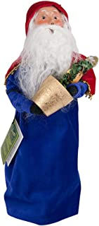 Byers' Choice Partridge Tree Santa Caroler Figurine #731 from The 12 Days of Christmas Collection