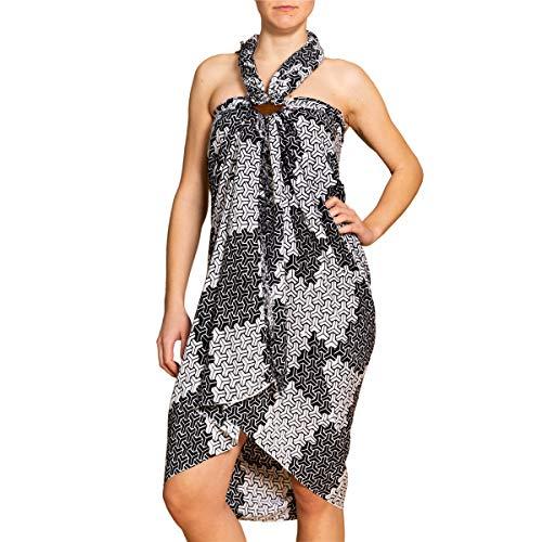 PANASIAM sarong, sjaal, doek, strandhanddoek, wikkeljurk, in vele ontwerpen en kleuren, topkwaliteit, zachte natuurlijke stoffen