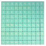 WedDecor Plástico Abecedario Figuritas con Letras y Números para Juego de Mesa, Colgante, Arte y...