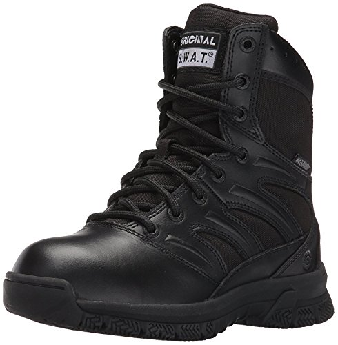 Original S.W.A.T. Men's Force 8' Waterproof Military and Tactical Boot, Black, 9...