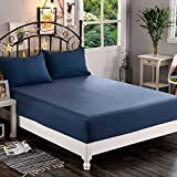 Elegant Comfort Premium Hotel Quality 1-Piece Fitted Sheet, Luxury & Softest 1500 Thread Count Egyptian Quality Bedding Fitted Sheet Deep Pocket up to 16inch, Wrinkle and Fade Resistant, King
